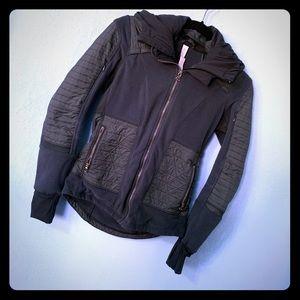 🍋Lululemon🍋 Fleecy Kleen Green Jacket w/ Hood